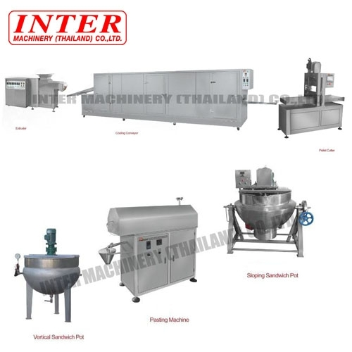 Jelly Candy & Soft Candy Production Line