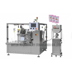 Liquid/Paste Premade Packing Machine